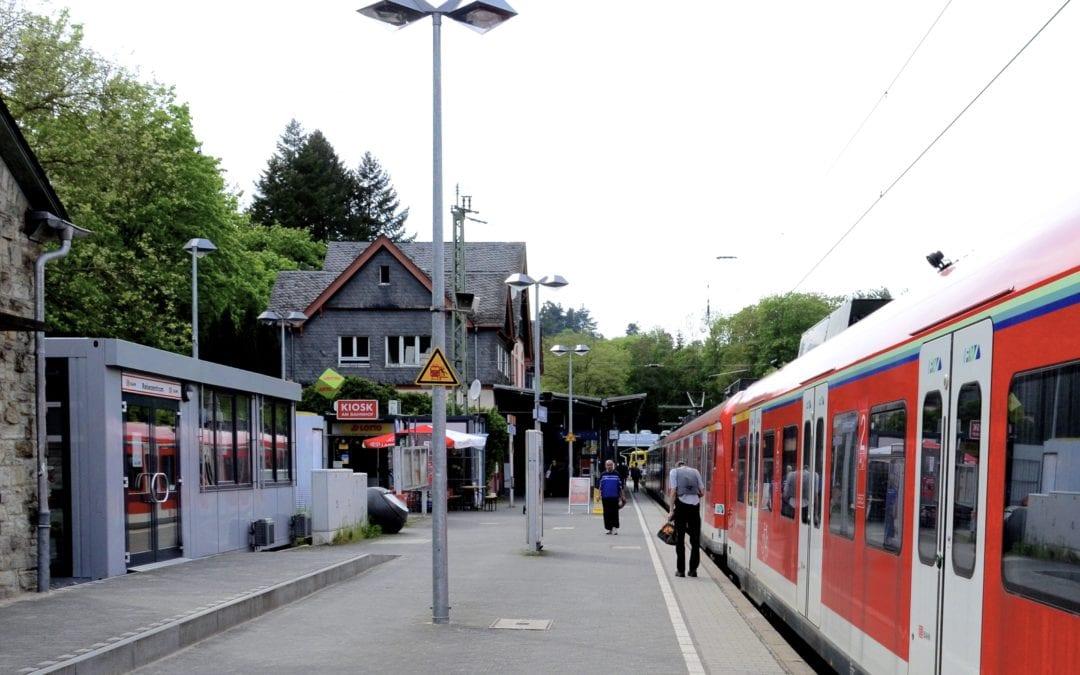 Der Bahnhof in Kronberg