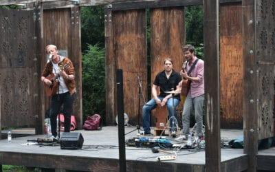 Entspanntes Konzert am Samstagabend im Victoriapark