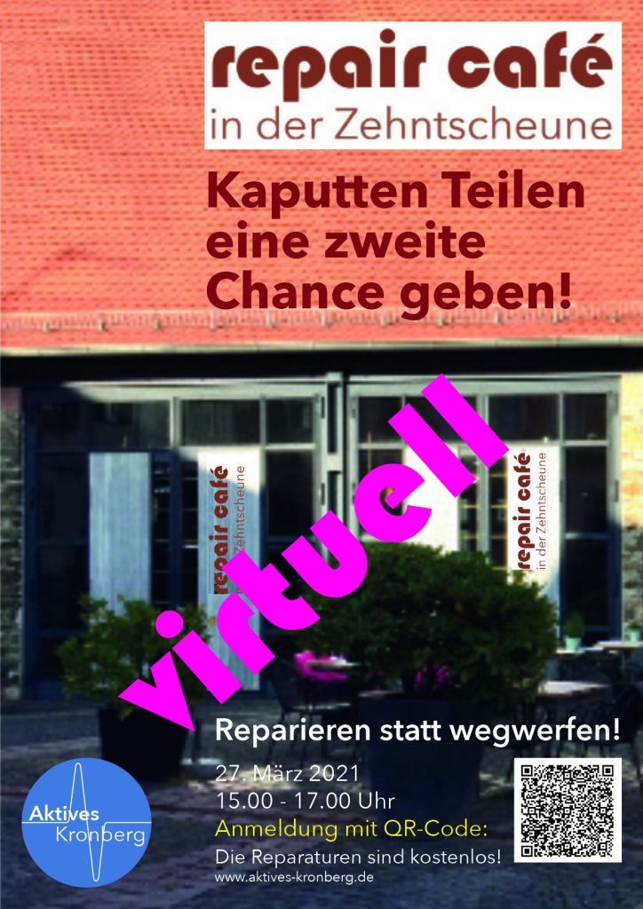 Postkarte 2.RepairCafé virtuell