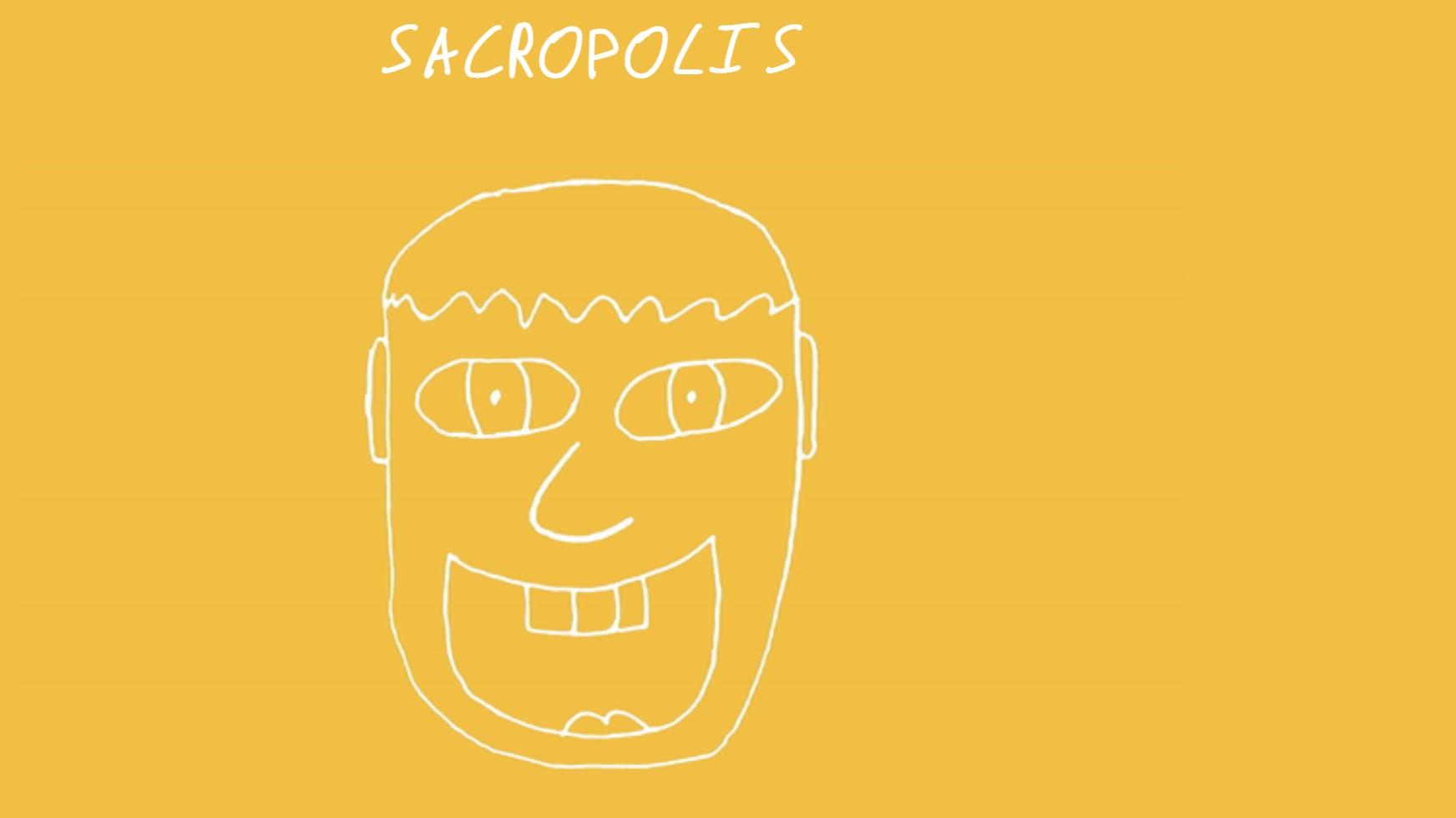 Sacropolis-Skizze