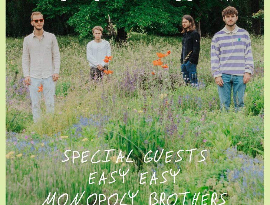 """Open-Air-Konzert mit der Band """"Sacropolis"""",  21.8. um 18.00 Uhr auf der Bühne im Victoria Park"""